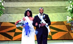 Naadiya Hopkins and Quiten Graham were crowned Miss and Mr. Homecoming 2013