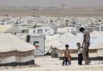 Daily life in Zaatari refuggee camp in Jordan, located 10 km east of Mafraq, Jordan on June 04, 2014. Photo © Dominic Chavez/World Bank